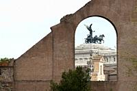 Italy, Rome, Monument to Victor Emmanuel II
