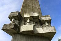 World War II Soviet Memorial. Saaremaa. Estonia.