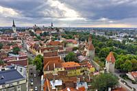 Old town . Tallinn. Estonia.