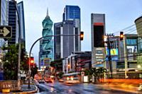 50th Street, Panama City, Republic of Panama, Central America, America.