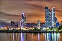 Cinta Costera, Panama City, Republic of Panama, Central America, America.