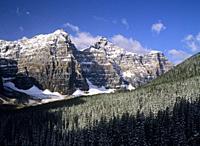 North America, Canada, Alberta, Banff National Park.