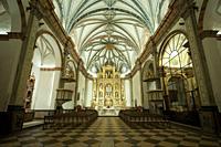 Cathedral Interior, Albarracín, Teruel Province, Aragon, Spain