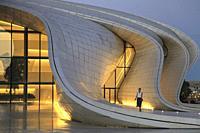 Azerbaijan; Baku, Heydar Aliyev Center,.