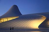 Azerbaijan; Baku; Heydar Aliyev Center; Zaha Hadid architect;.