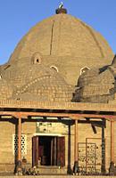 Uzbekistan; Bukhara; Toki Zaragon, bazaar, dome,.