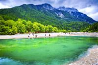 Lake Jasna. Triglav National Park. Upper Carniola region. Slovenia, Europe.