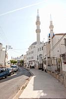 Mosque Kayalar Cami in Bodrum, Turkey.