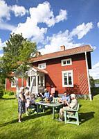 Summer cottage, northern Sweden