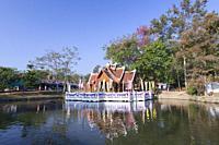 Wat nam hoo, near Pai, Thailand.