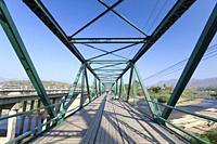 The world war two memorial bridge near Pai in Thailand.