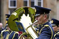 The Royal Air Force Central Band perform in the uk.