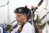 WORLD PIPE BAND CHAMPIONSHIP 2018, Glasgow Green, Scotland, UK.