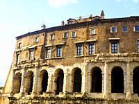 The Theatre of Marcellus (Latin: Theatrum Marcelli, Italian: Teatro di Marcello) is an ancient open-air theatre in Rome, Italy.