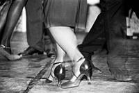 Couple Dancing Argentinian Tango.