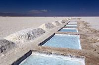 Salinas Grandes. Salinas Grandes is the denomination of a border salt of the Argentine provinces of Salta and Jujuy, located in the Altiplano, in the ...