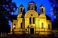 Church of St James, Roman Catholic Church now, previously (until 1946) Orthodox Church of Saints Cyril and Methodius (1872), built in Byzantine style,...