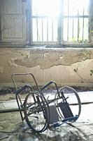 Remains of an old phychiatric hospital in complete abandonment.