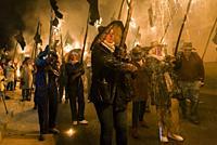 """El Vítor, also known as Civic Procession """"""""El Vítor"""""""", is a declared festival of National Tourist Interest. Mayorga, Valladolid, Castilla y Leon, Spai..."""