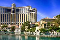 Caesars Palace Hotel on the strip in Las Vegas Nevada.