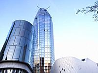 One Blackfriars modern building in Southwark - London, England.