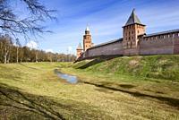 Nizhny Novgorod Kremlin, Russia.
