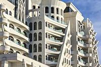 Georgia, Batumi, Batumi Boulevard, seaside promenade, architecture.