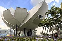 Singapore, Singapore - October 19, 2018: Modern Art Museum in Singapore.