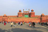 Red Fort, New Delhi, India.