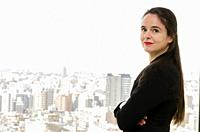 Shibuya, Tokyo / Japan - April 2 2012 : French writer AmŽlie Nothomb poses for pictures in Tokyo, Japan. She visited Tokyo to film her documentary sho...