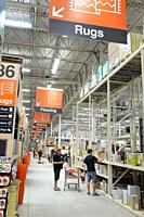Florida, Miami, The Home Depot, inside, hardware big box store, do it yourself, aisle, shopping,