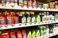 Florida, Miami, The Home Depot, inside, hardware big box store, do it yourself, shopping, display sale shelves, insect bug spray killer garden control...