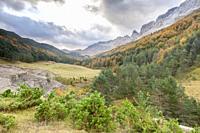 Zuriza Valley, Huesca, Spain.