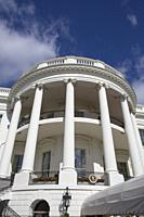 South Portico, White House, Washington D.C., USA