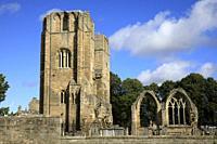 Ruins of Elgin Cathedral, Elgin, Moray, Grampian, Scotland, Highlands, United Kingdom.