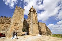 castillo de Mourão, siglo XIV, Mourão, Distrito de Évora, Alentejo, Portugal.
