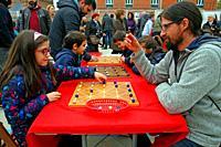 board game, festival DAU 18, Barcelona, Catalonia, Spain