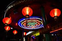A Taoist temple in Ho Chi Minh City,Vietnam,South East Asia.