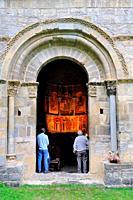 Romanesque church of Santa María de Iguacel. Larrosa. Pirineos mountains. Huesca province. Aragón. Spain