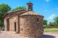 Chapel Saint-Roch, Roquebrune-sur-Argens, Var, Provence-Alpes-Cote d`Azur, France, Europe.