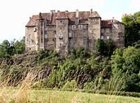 Chateau de Boussac, Creuse, Nouvelle-Aquitaine.