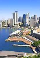 Circular Quay and The Rocks, Sydney, New South Wales, Australia.