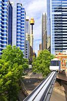 Monorail, Sydney, New South Wales, Australia,.