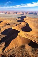 Aerial View of Namib-Naukluft National Park, Namibia, Africa.
