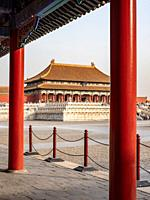 China Beijing Forbidden City.