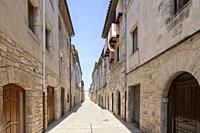 Ancient street,Banyoles,Catalonia.