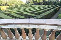 Park and garden labyrinth,Parc laberint Horta,Barcelona.