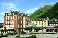 Cauterets town, Hautes-Pyrénées department , Occitanie region, France.