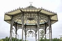 Vincenzo Bellini Park in Catania, Sicily, Italy.