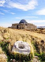 Umayyad Palace, Amman Citadel, Amman Governorate, Jordan.